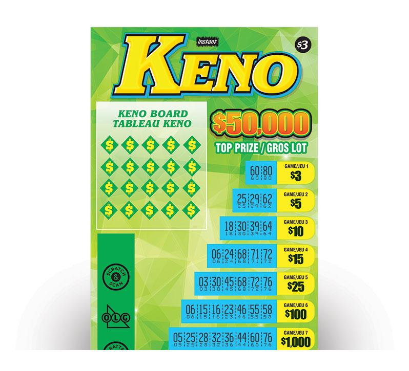 Billet de INSTANT KENO
