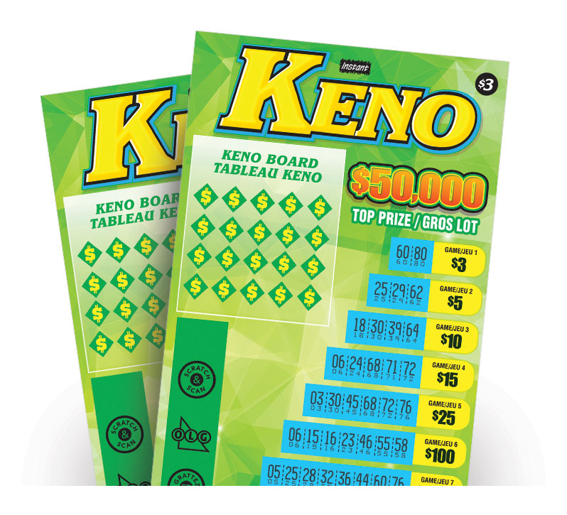 Instant Keno 1421 tickets