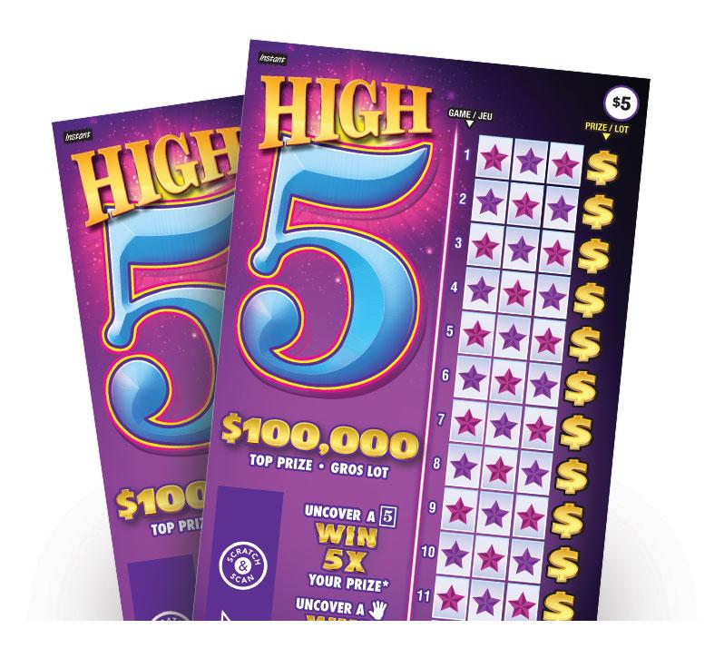 Deux billets High 5