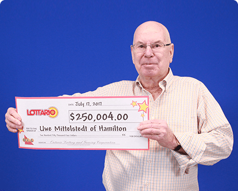 RECENT Lottario WINNER - Uwe Mittelstedt