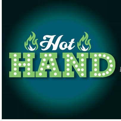 HOT HAND logo