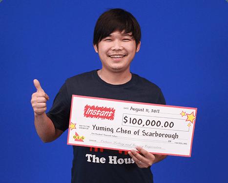 RECENT Instant WINNER - Yuming Chen