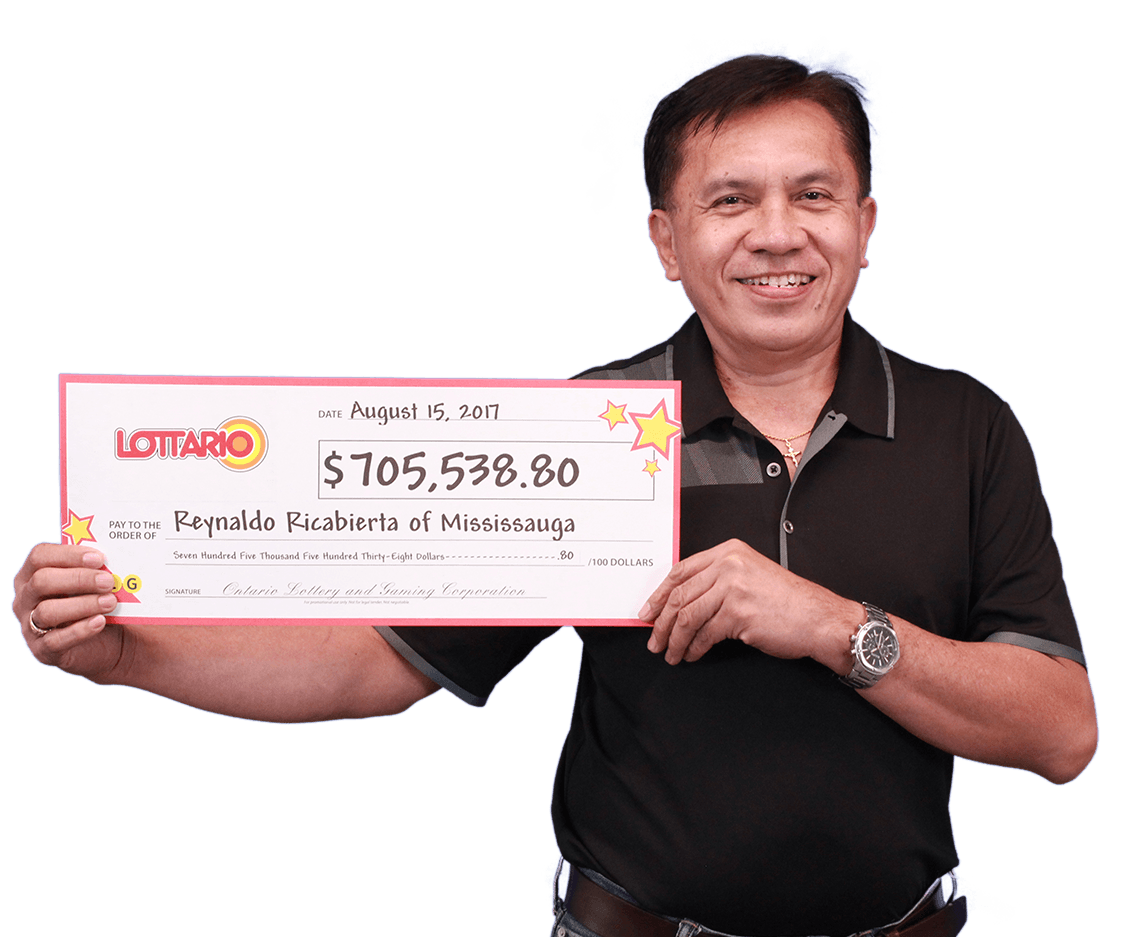 RECENT Lottario WINNER - Reynaldo