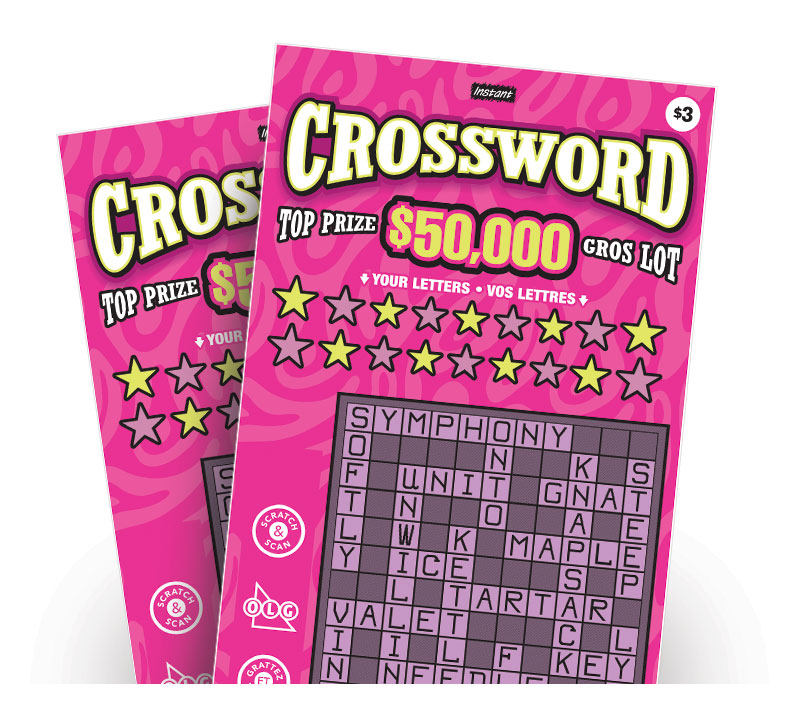 Deux billets Instant Crossword 3218