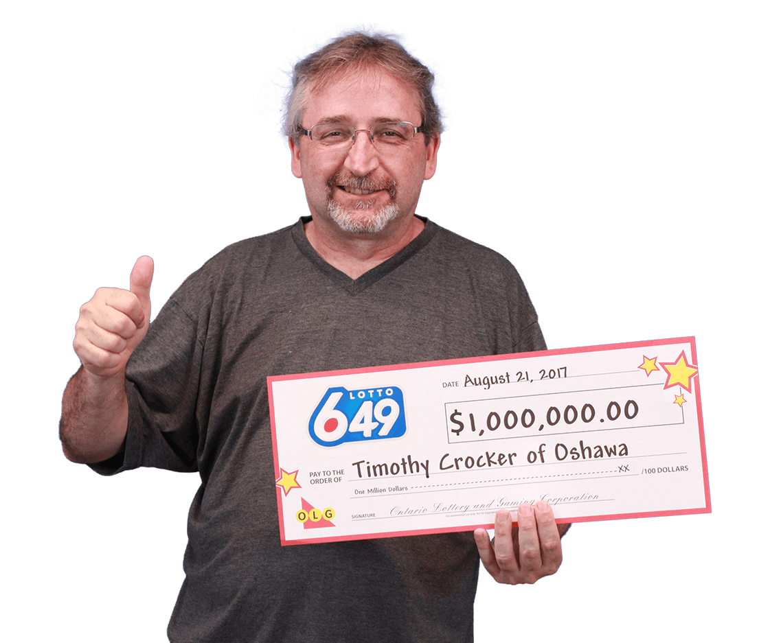 RECENT Lotto 6/49 WINNER - Timothy Crocker