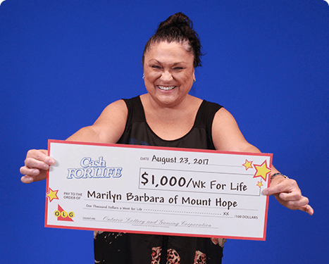 RECENT Instant WINNER - Marilyn Barbara