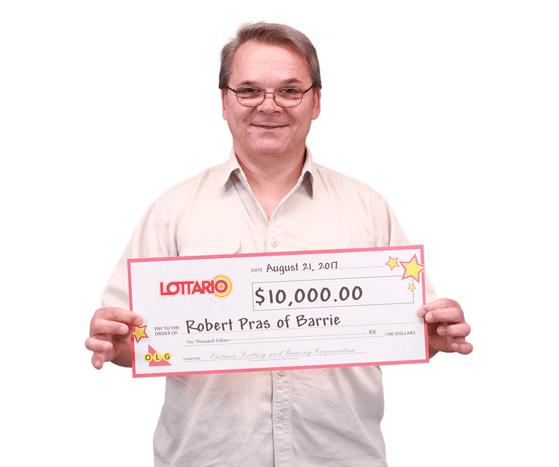 RECENT Lottario WINNER - Robert Pras
