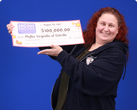 RECENT Encore WINNER - Phyllis Virginillo