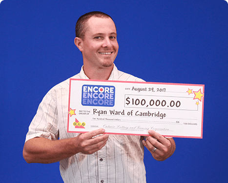 RECENT Encore WINNER - Ryan Ward