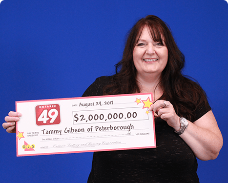 RECENT Ontario 49 WINNER - Tammy