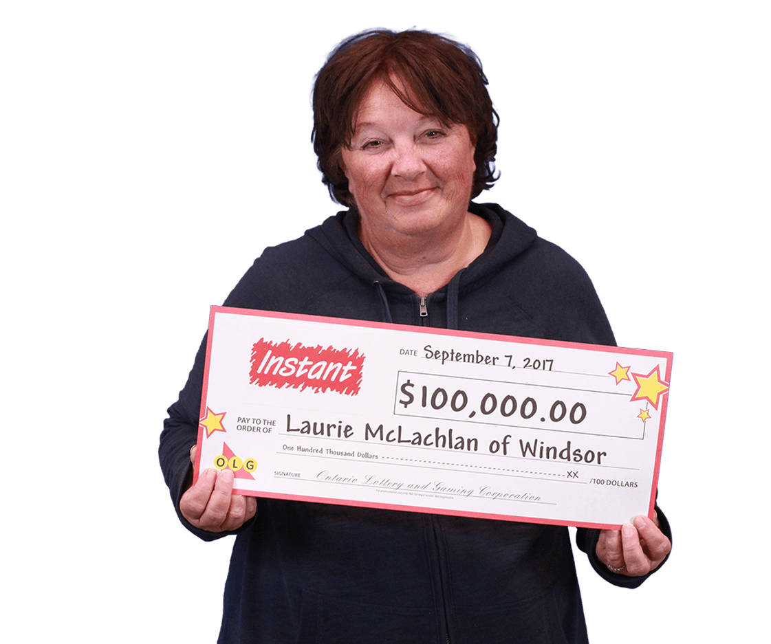 RECENT Instant WINNER - Laurie McLachlan
