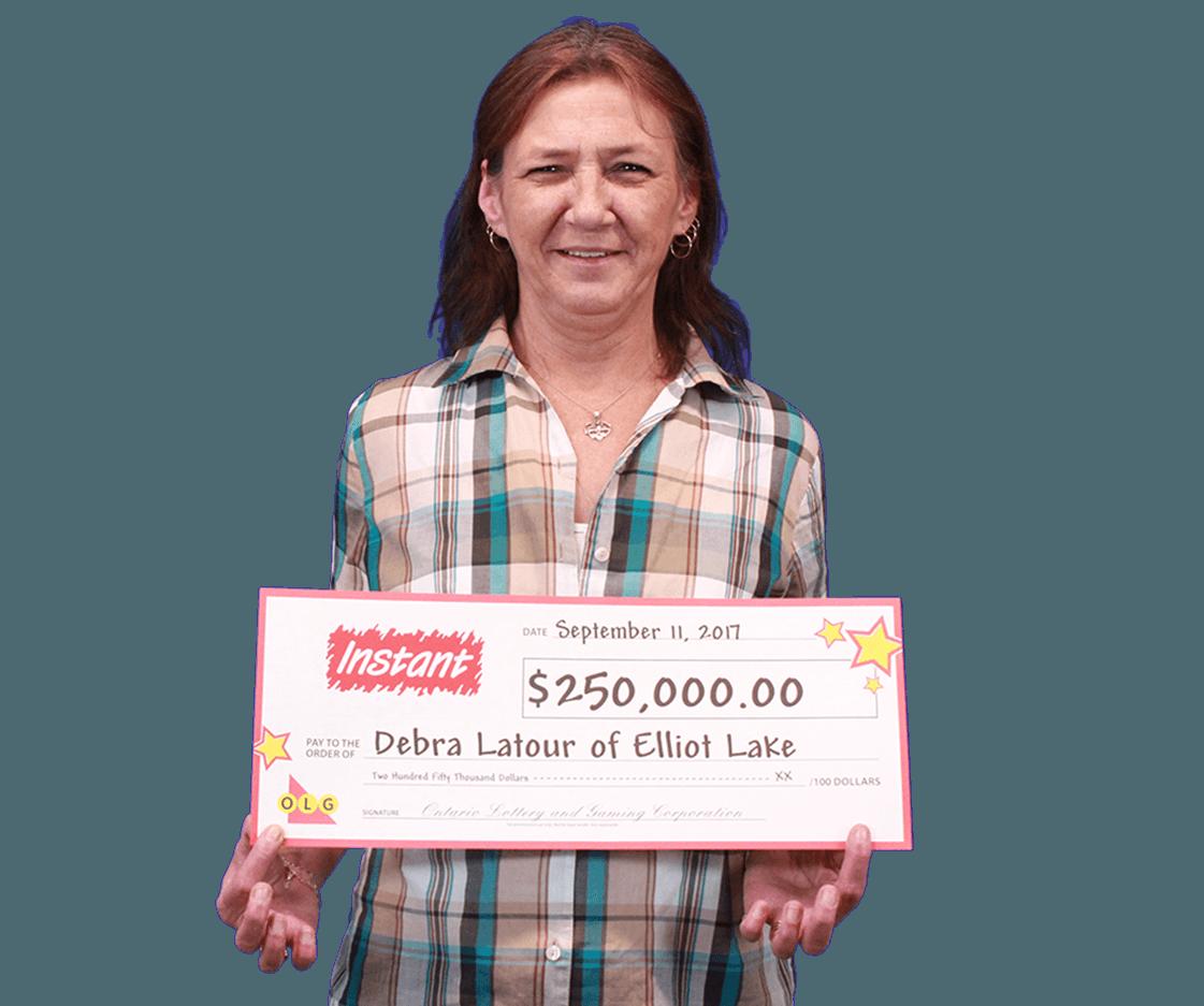 RECENT Instant WINNER - Debra Latour