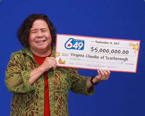 GAGNANTE RÉCENTE À Lotto 6/49 - Virginia Claudio