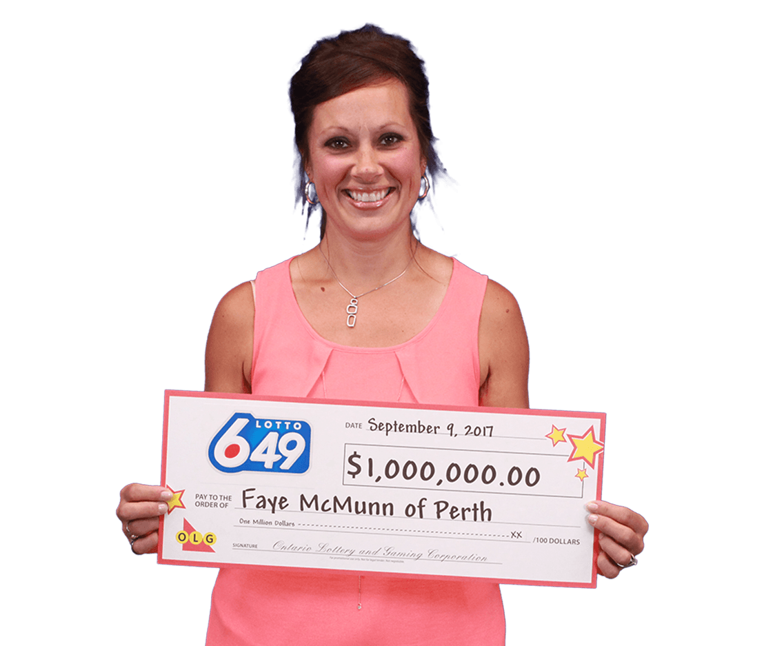 RECENT Lotto 6/49 WINNER - Fay McMunn