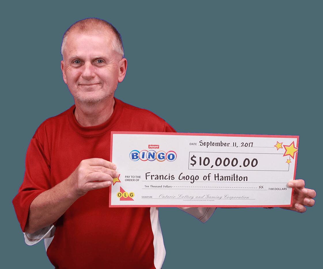 RECENT Instant WINNER - Francis Gogo