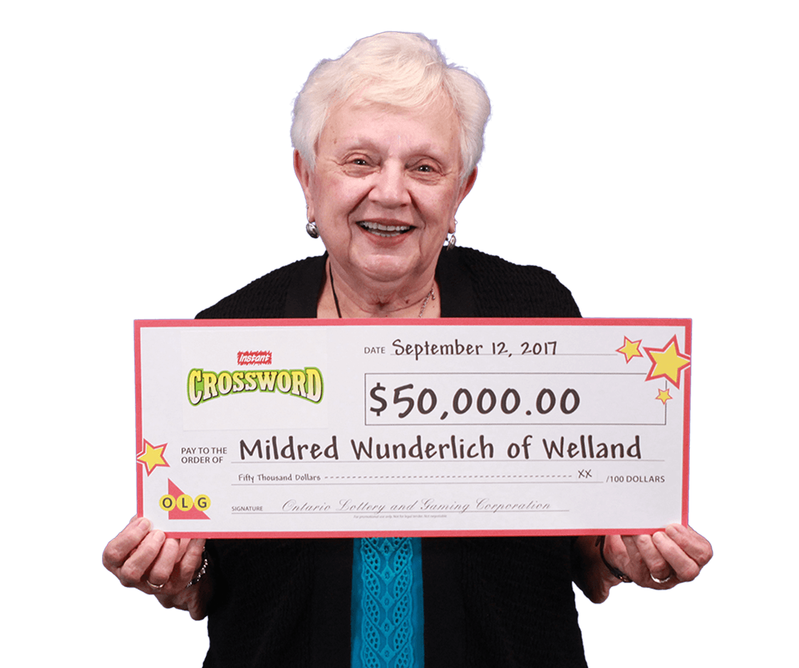 RECENT Instant WINNER - Mildred Wunderlich