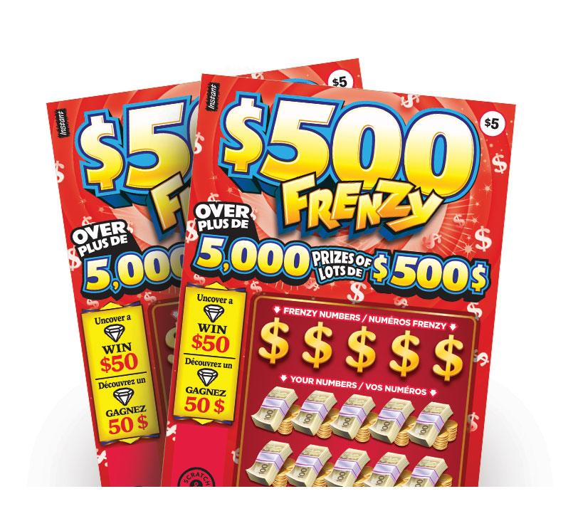 $500 Frenzy tickets