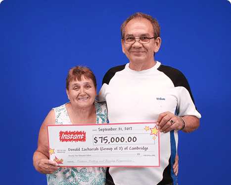 RECENT Instant WINNERS - Rita & Donald