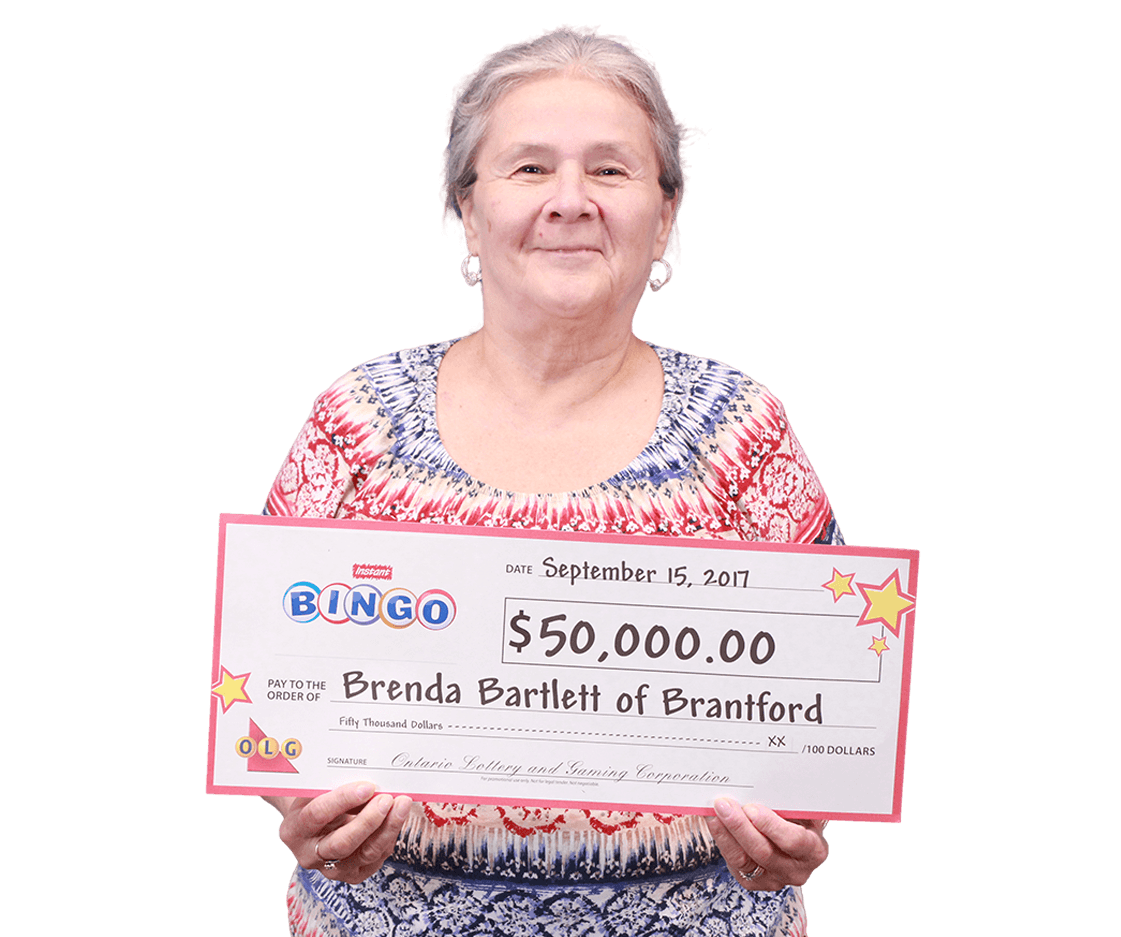 RECENT Instant WINNER - Brenda Bartlett