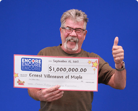 RECENT Encore WINNER - Ernest Villeneuve