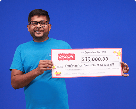 RECENT Instant WINNER - Thushyanthan Vettivelu