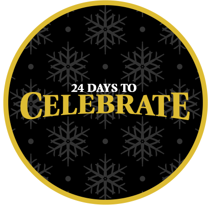 24 DAYS TO CELEBRATE logo