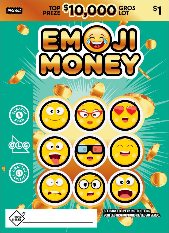 Emoji Money ticket