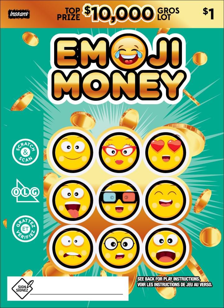 Billet Emoji Money