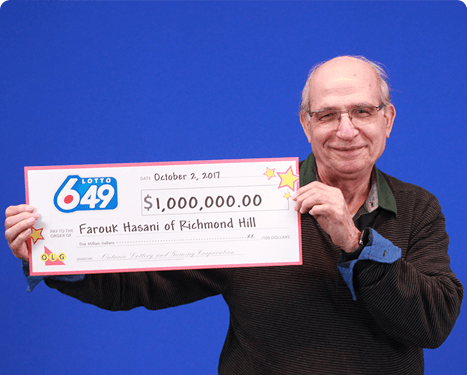 RECENT Lotto 6/49 WINNER - Farouk Hasani