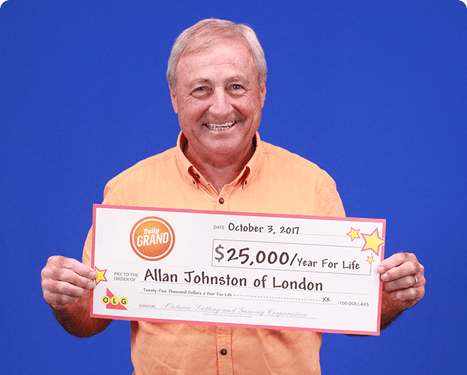 RECENT DAILY GRAND WINNER - Allan