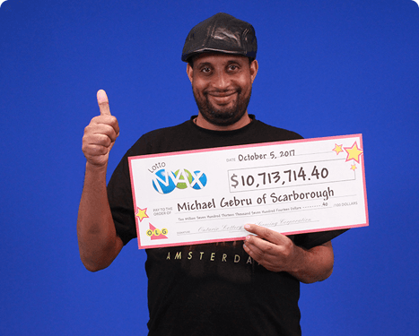 RECENT Lotto Max WINNER - Michael