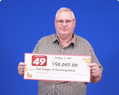 RECENT Ontario 49 WINNER - Paul