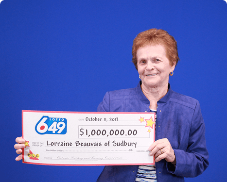 RECENT Lotto 6/49 WINNER - Lorraine