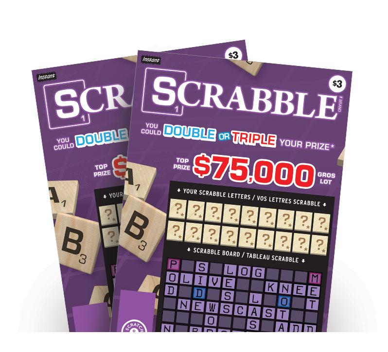 Scrabble tickets