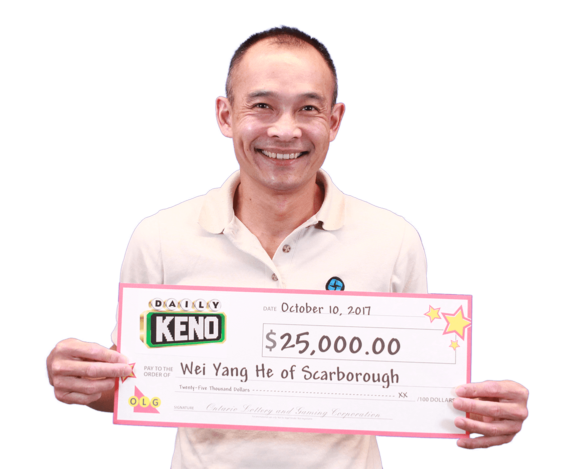 GAGNANT RÉCENT À Daily Keno - Wei Yang He