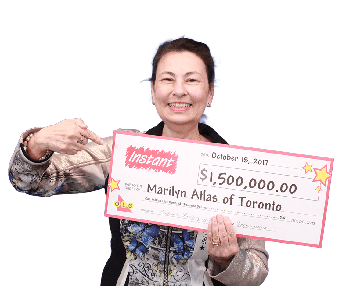RECENT Instant WINNER - Marilyn