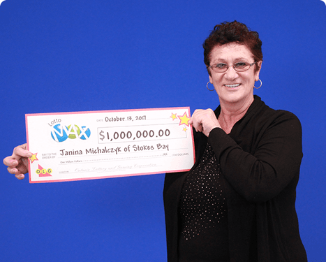 RECENT Lotto Max WINNER - Janina
