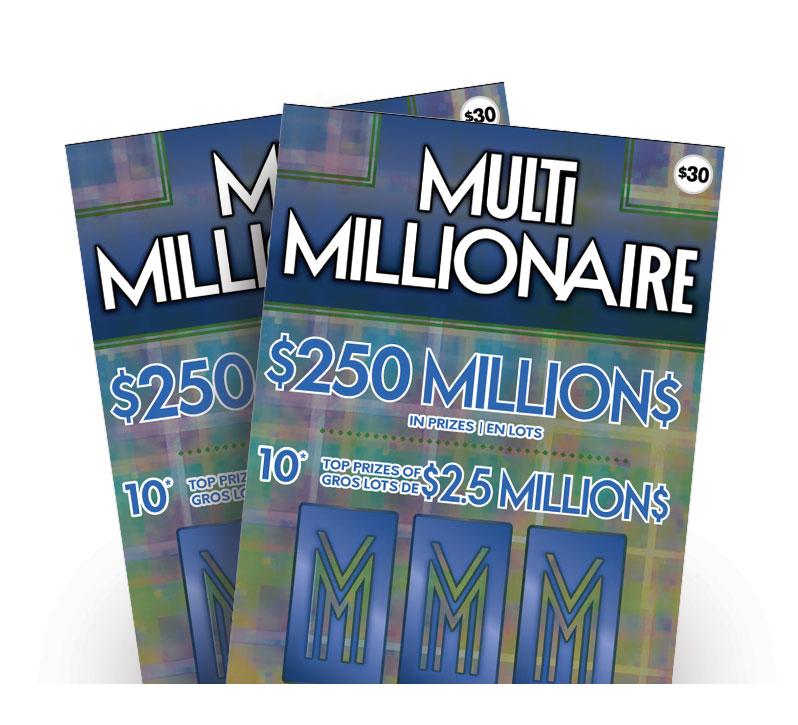 Multi Millionaire tickets