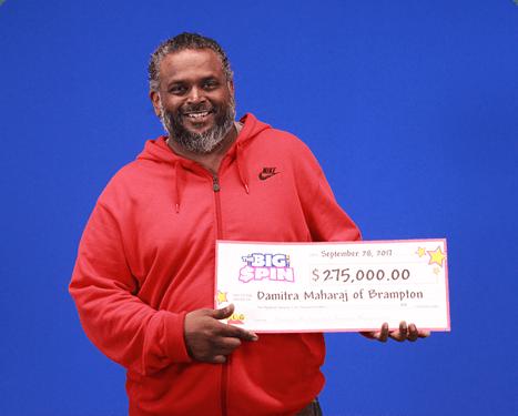 RECENT Instant WINNER - Damitra Maharaj