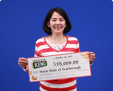 RECENT Daily Keno WINNER - Marie Biete