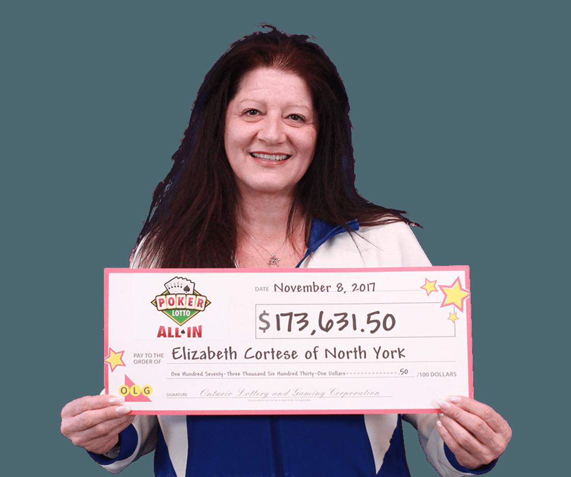GAGNANTE RÉCENTE À Poker Lotto - Elizabeth