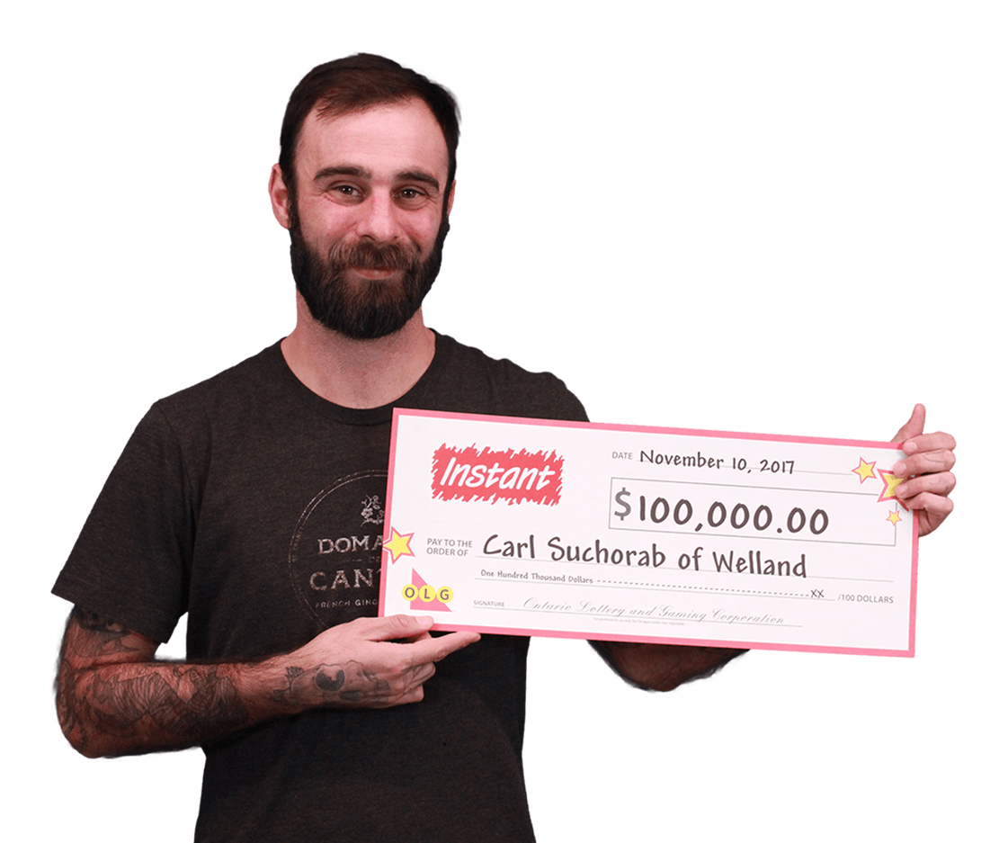 RECENT Instant WINNER - Carl