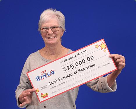 RECENT Instant WINNER - Carol