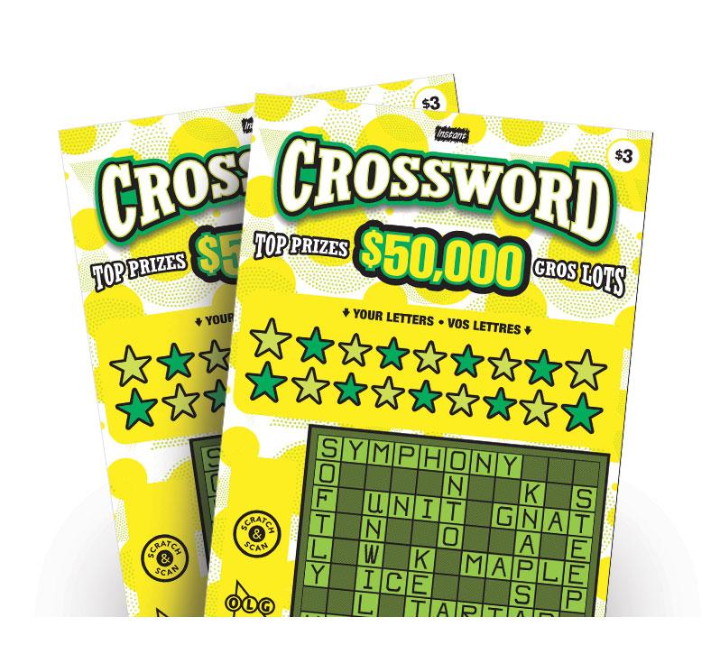 Instant Crossword 3219 tickets