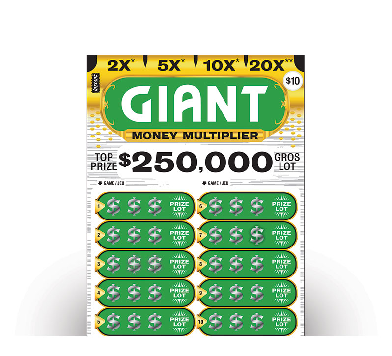 GIANT MONEY MULTIPLIER Instant Ticket