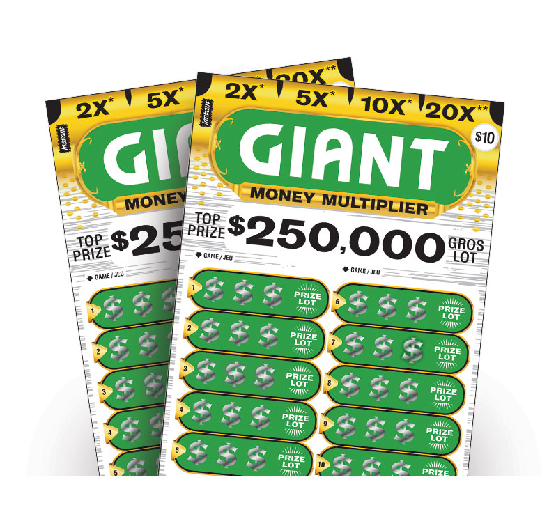 Giant Money Multiplier tickets
