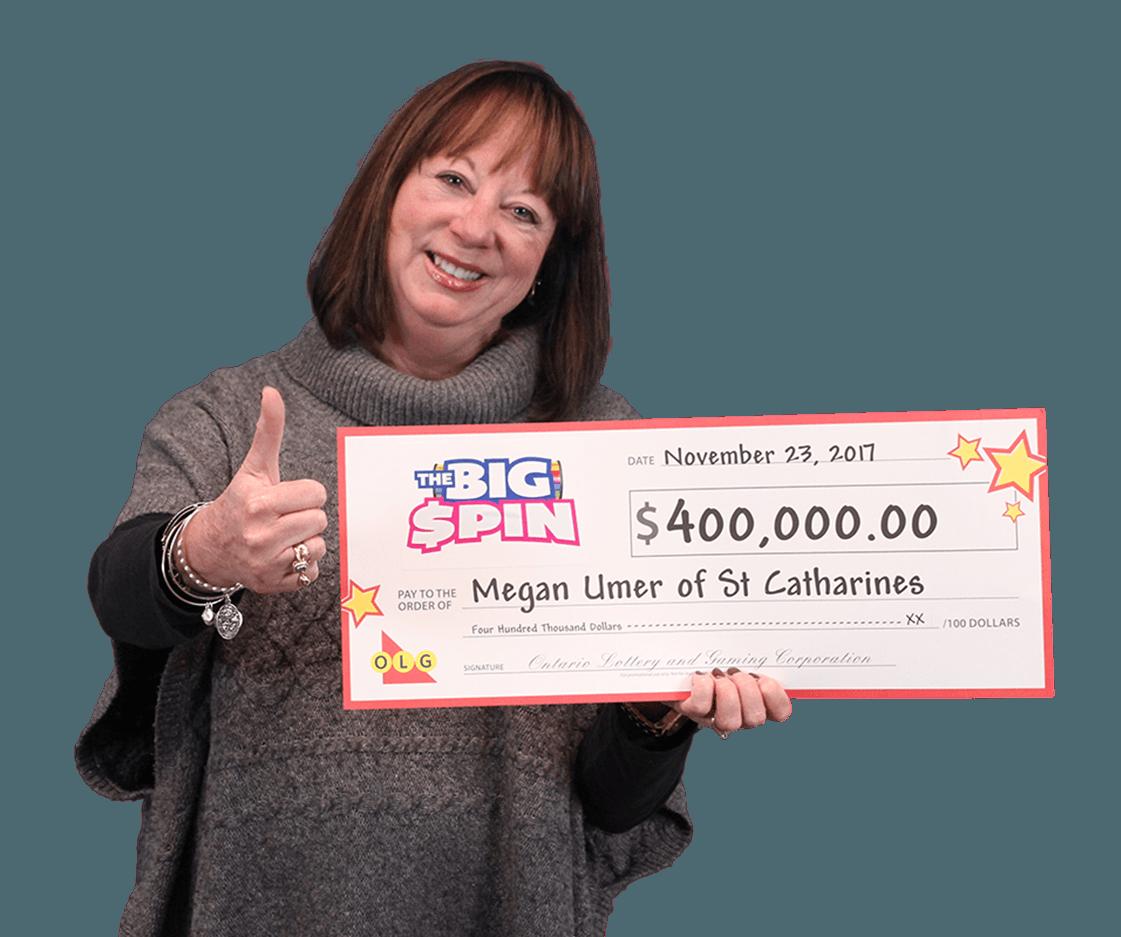 RECENT Instant WINNER - Megan