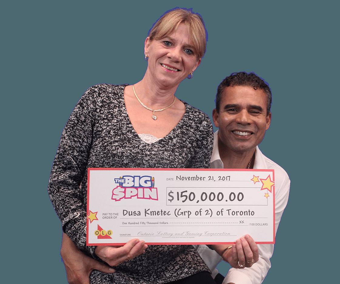 RECENT Instant WINNERS - Dusa & Richard