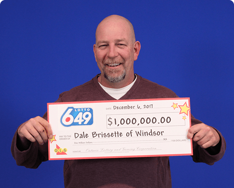 RECENT Lotto 6/49 WINNER - Dale