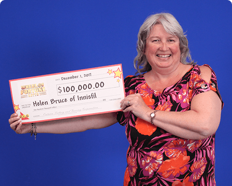 RECENT Wheel of Fortune® Lotto WINNER - Helen